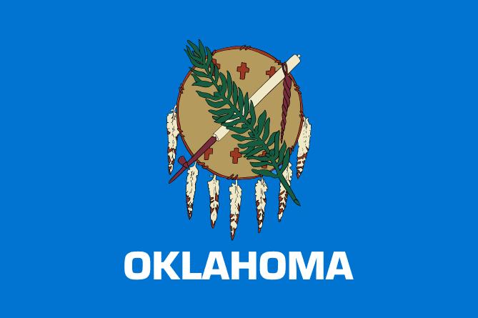 Illustration: Oklahoma state flag