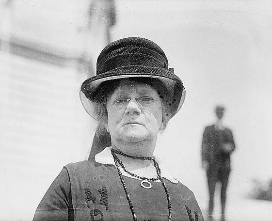 Photo: Annie Maud Norton Batelle, widow of John Gordon Batelle, 22 June 1920