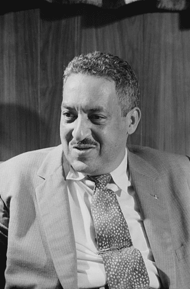 Photo: Thurgood Marshall, an attorney for the NAACP