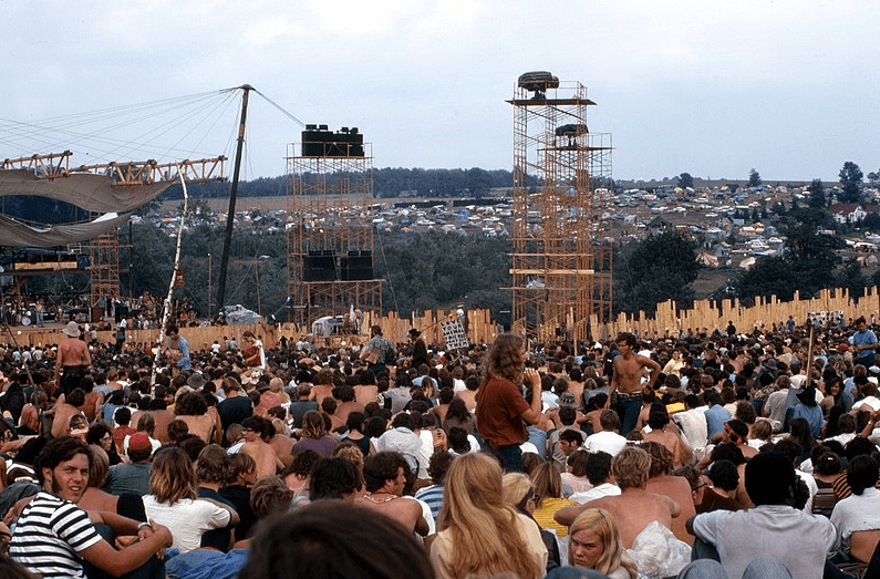 Photo: Woodstock Music and Art Festival, 17 August 1969