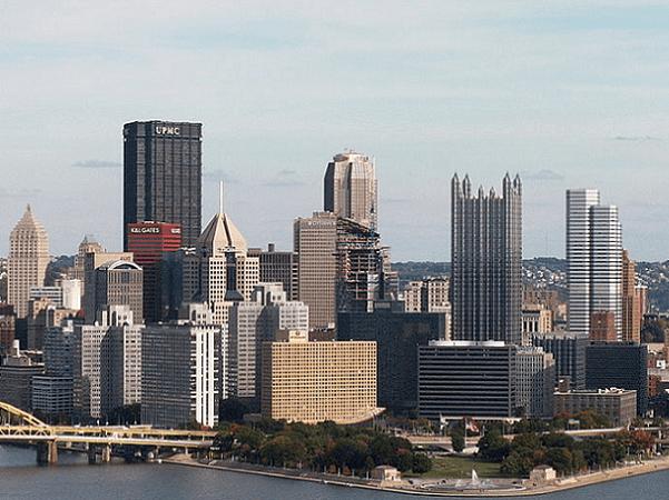 Photo: Pittsburgh, Pennsylvania. Credit: Cbaile19; Wikimedia Commons.