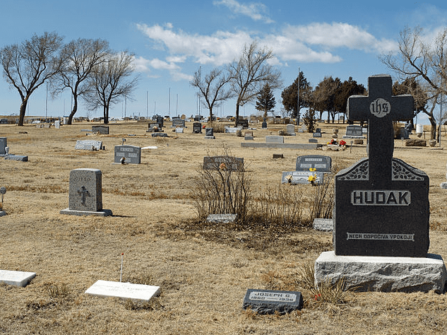 Photo: a cemetery in Calhan, Colorado