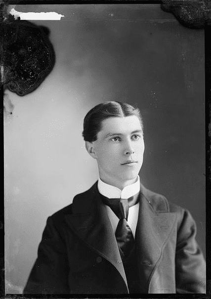Photo: young man, c. 1897