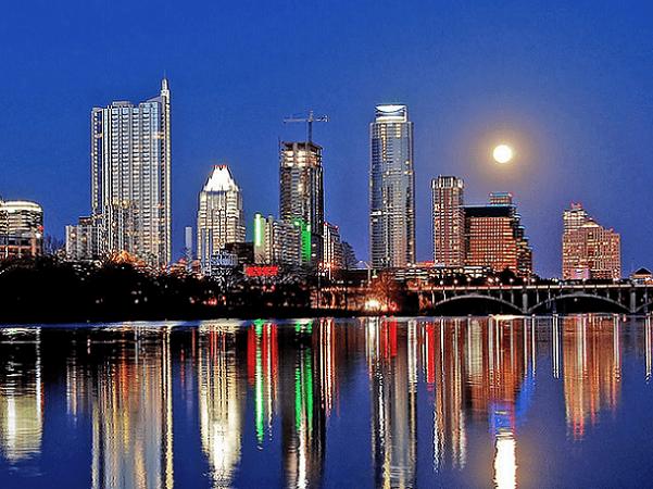 Photo: Austin, Texas. Credit: LoneStarMike; Wikimedia Commons.