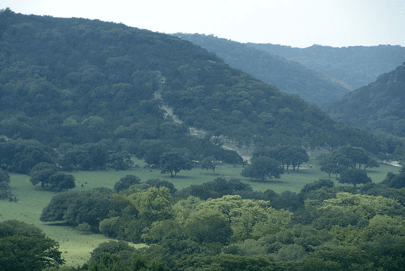 Photo: Texas hill country, just north of Garner State Park, Texas