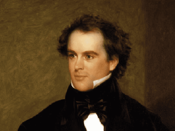 Portrait: Nathaniel Hawthorne, by Charles Osgood, 1840. Credit: Peabody Essex Museum, Gift of Richard C. Manning, 1933; Wikimedia Commons.