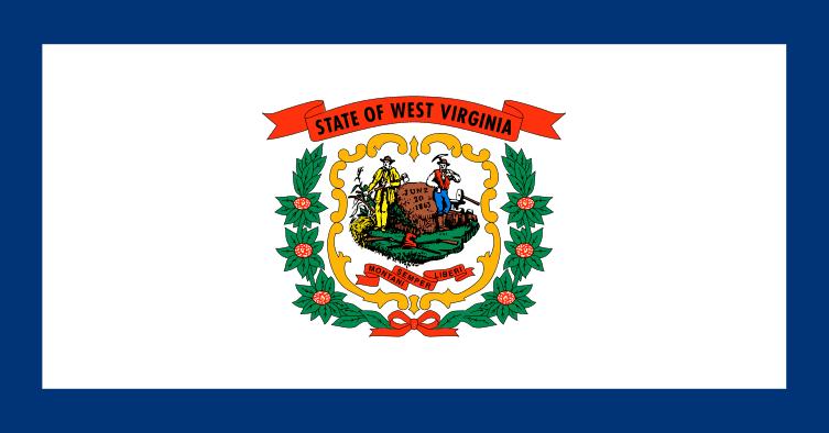 Illustration: West Virginia state flag