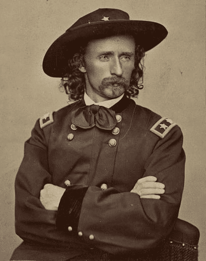 Photo: Major General George Armstrong Custer, 1865