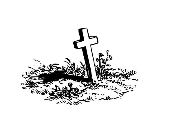 Illustration: a grave
