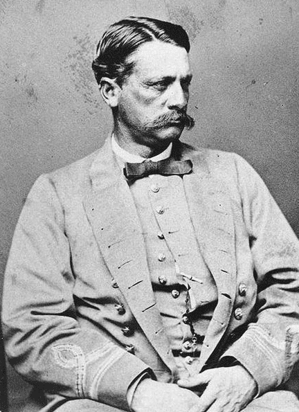 Photo: Commander James Iredell Waddell (1824-1886), CSN, photographed in Confederate Navy uniform