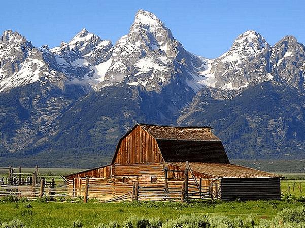 Photo: Teton Range, Wyoming. Credit: Jon Sullivan; Wikimedia Commons.