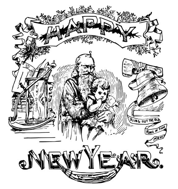 Illustration: Happy New Year