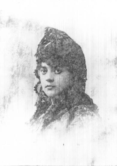 """Photo: Mrs. Timothy Hopkins, born Mary """"May"""" Kellogg Crittenden"""