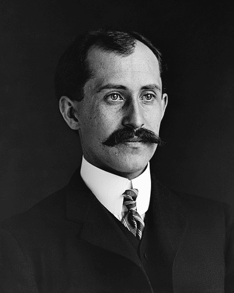 Photo: Orville Wright, age 34, 1905