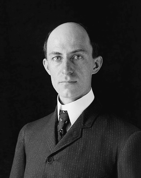 Photo: Wilbur Wright, age 38, 1905