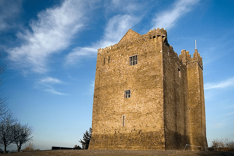 Photo: Redwood Castle, County Tipperary, although built by the Normans, was later occupied by the MacEgan juristic family and served as a school of Irish law under them