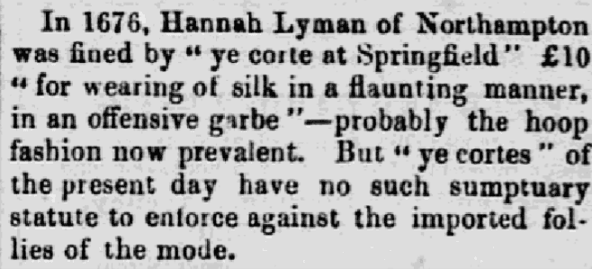 An article about Hannah Lyman, Lowell Daily Citizen and News newspaper article 5 June 1858