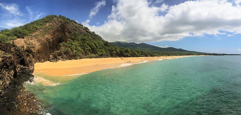 "Photo: ""Big Beach"" in Makena, on Maui's southwest shore"