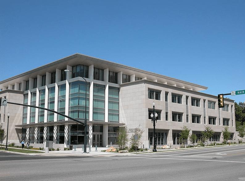 Photo: LDS Church History Library in Salt Lake City, Utah