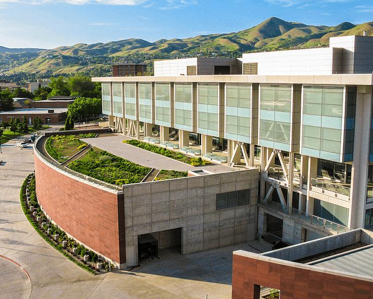 Photo: J. Willard Marriott Library at the University of Utah campus in Salt Lake City, Utah