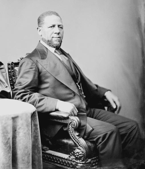 Photo: U.S. Senator Hiram Rhodes Revels of Mississippi