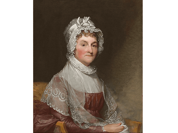 Illustration: Abigail Adams, by Gilbert Stuart, between 1810 and 1815. Credit: National Gallery of Art; Wikimedia Commons.