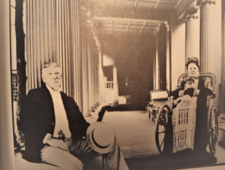 Photo: Edward Searles and Mary (Hopkins) Searles