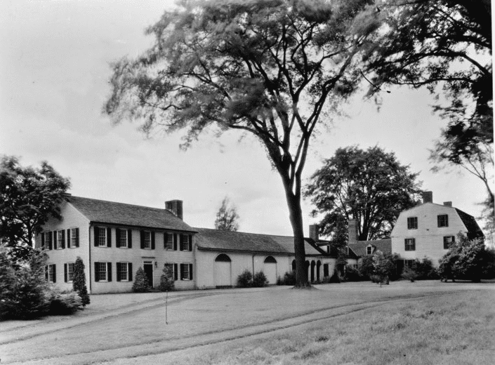 Photo: Porter-Phelps-Huntington house, Hadley, Massachusetts, 5 August 1935