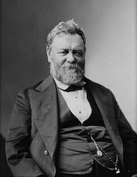 Photo: Benjamin Perley Poore, between 1865 and 1880