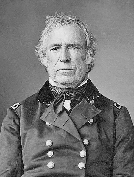 Photo: Zachary Taylor, c. 1844