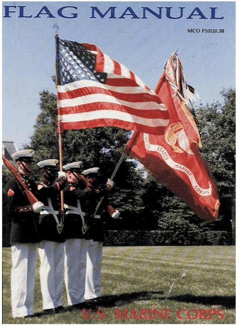 Photo: Flag Manual, U.S. Marine Corps