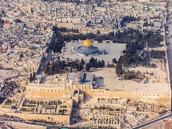 Photo: Temple Mount, Jerusalem. Credit: Godot13; Wikimedia Commons.