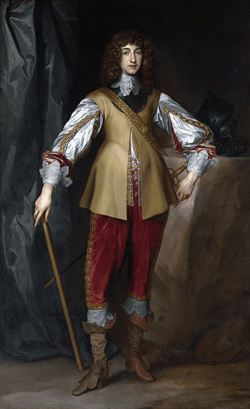 Illustration: Prince Rupert of the Rhine, often considered to be an archetypal Cavalier, by Anthony van Dyck, c. 1637