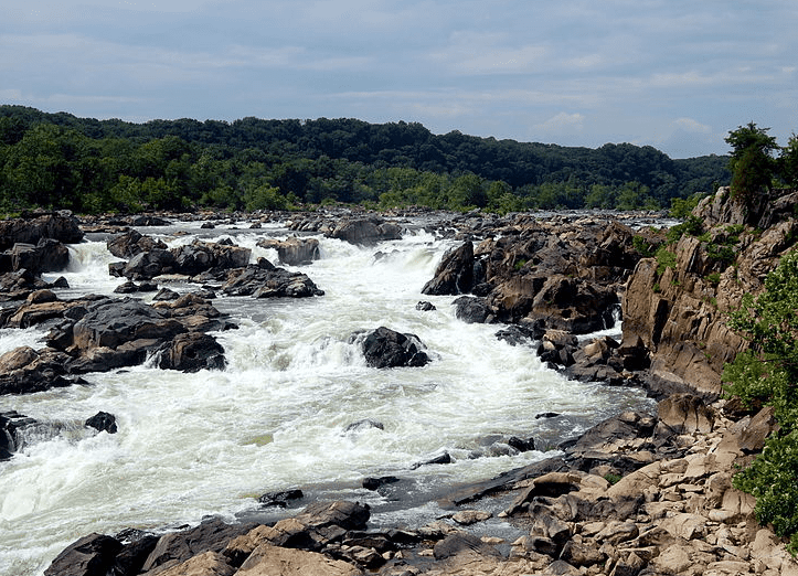 Photo: Great Falls on the Potomac River, Chesapeake and Ohio Canal National Historic Park, Maryland
