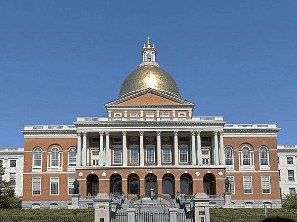 Photo: the Massachusetts State House in Boston, Massachusetts. Credit: Fcb981; Wikimedia Commons.