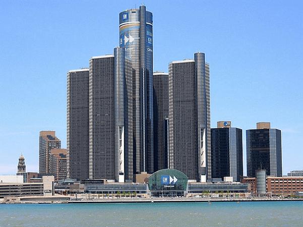 Photo: Detroit, Michigan. Credit: Ritcheypro; Wikimedia Commons.