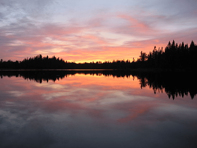 Photo: Pose Lake in the Boundary Waters Canoe Area Wilderness, Minnesota