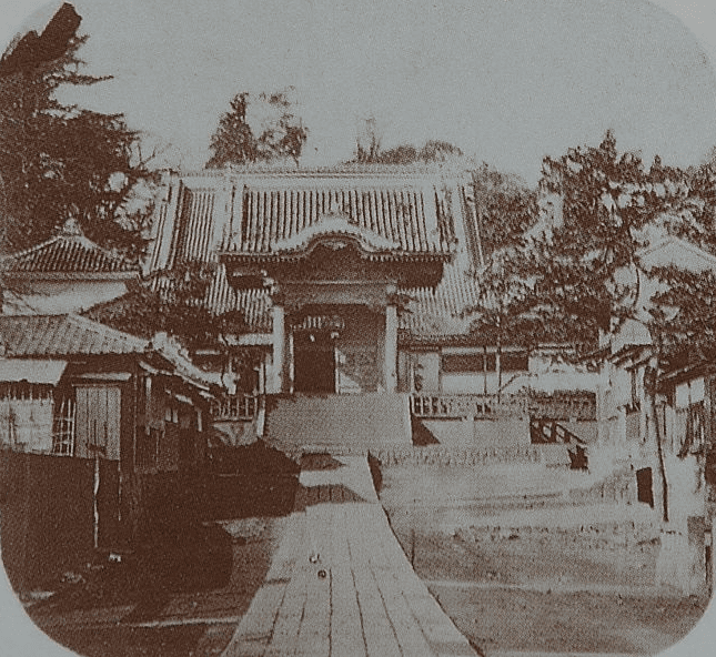 Photo: Townsend Harris had the U.S. Legation relocate at the Zenpuku-ji Temple in 1859, following the Treaty of Amity and Commerce