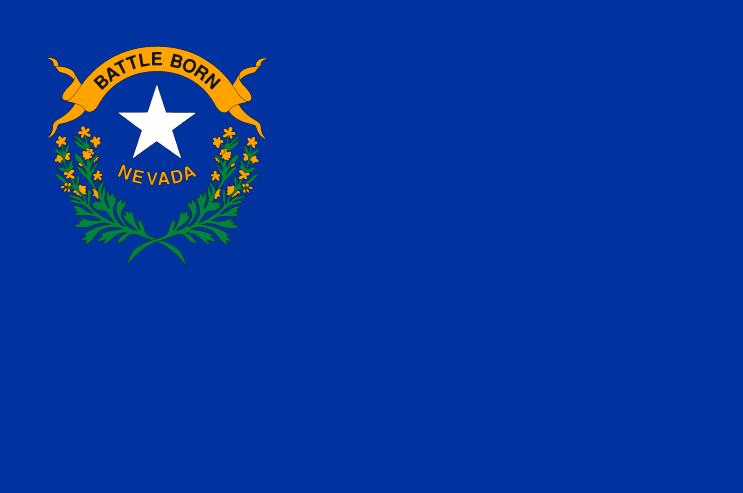 Illustration: Nevada state flag