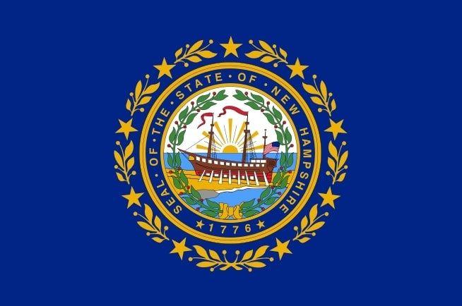 Illustration: New Hampshire state flag