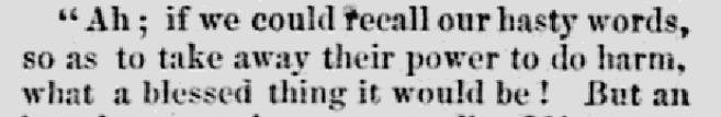 An article about Mary Todd Lincoln, Lowell Daily Citizen and News newspaper article 24 May 1861