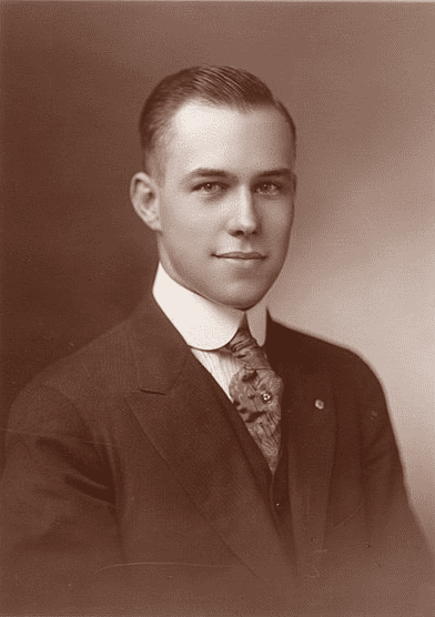 Photo: Harry T. Burn in 1918 during his first campaign for State Representative in McMinn County, Tennessee