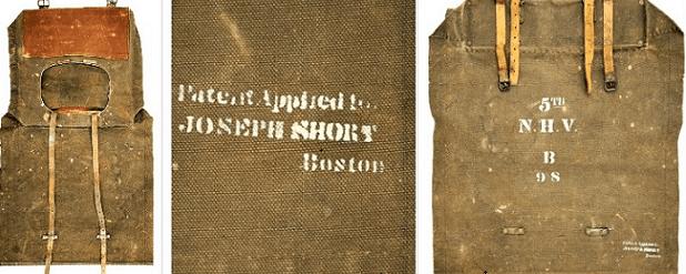 Photo: Short Patent Knapsack