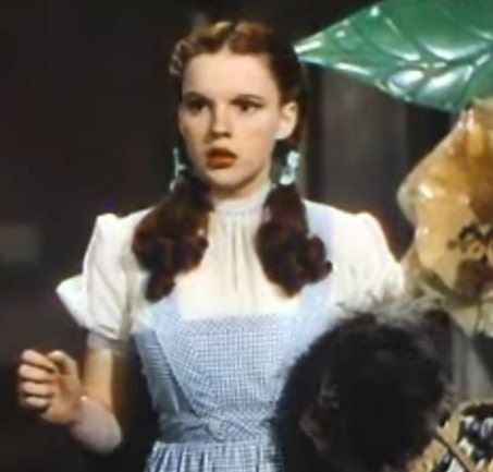 """Photo: Judy Garland as Dorothy Gale in """"The Wizard of Oz,"""" 1939"""