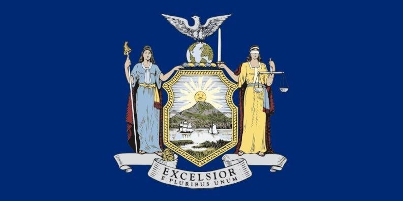 Illustration: New York state flag