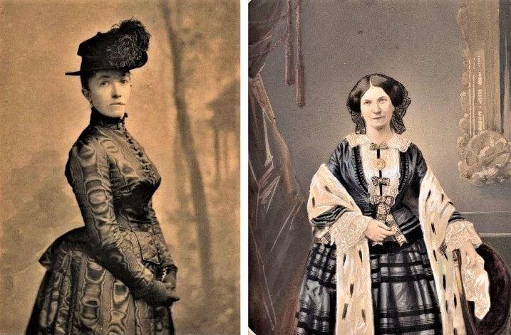 Photo: Isabella Stewart Gardner (1840-1924) (left) and her mother Adeline Smith Stewart (1814-1886)