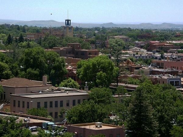 Photo: Santa Fe, New Mexico. Credit: Wikimedia Commons.