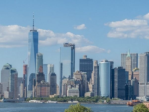Photo: Lower Manhattan skyline as seen from Governors Island in June 2017. Credit: MusikAnimal; Wikimedia Commons.