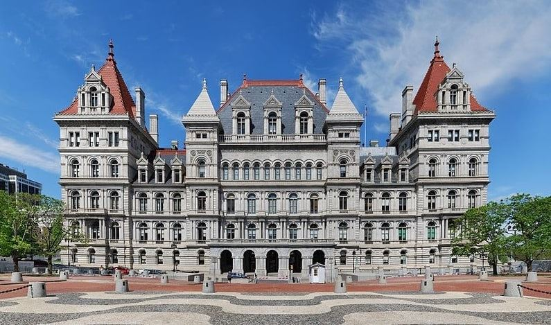 Photo: New York State Capitol in Albany, New York