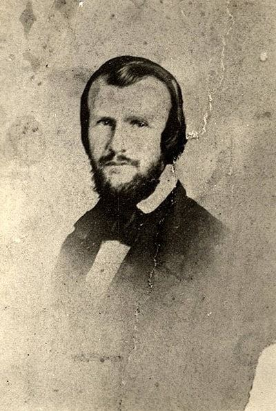 Photo: Horace Lawson Hunley, Confederate marine engineer, c. 1860
